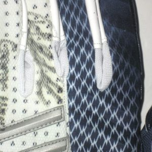 Ironhead Gallon Georgia Southern Eagles Game Worn & Signed White & Blue Adidas CrazyQuick Gloves
