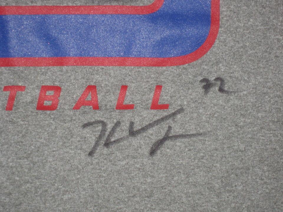 760e79c49 ... Kerry Wynn Training Worn   Signed New York Giants Football Nike Dri-Fit  Sleeveless