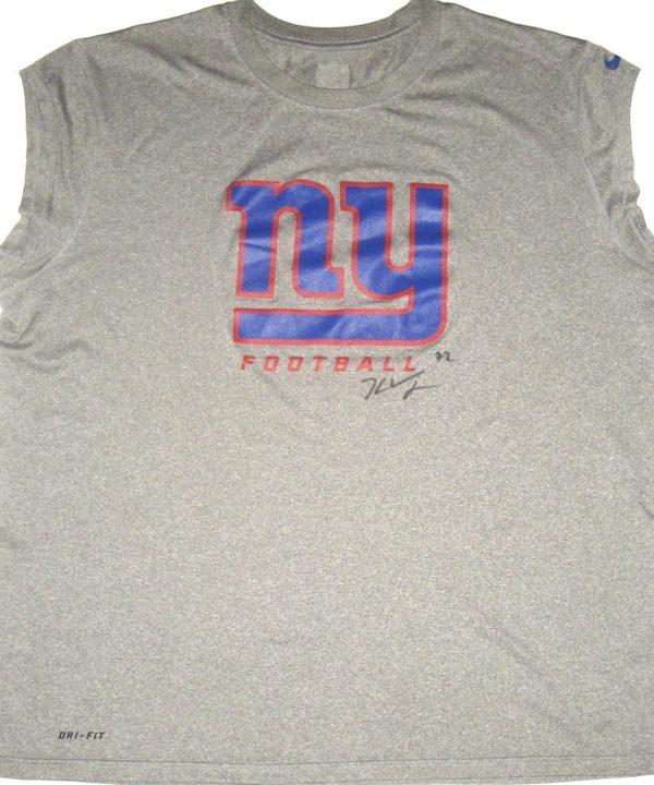 98f7538c4 Kerry Wynn Training Worn   Signed New York Giants Football Nike Dri-Fit  Sleeveless