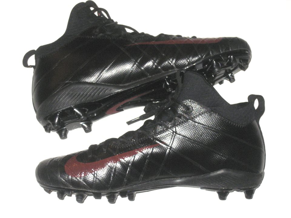 e1aebb7b6ee0 ... Tony Jerod-Eddie San Francisco 49ers Game Worn & Signed Black & Red  Nike Field ...