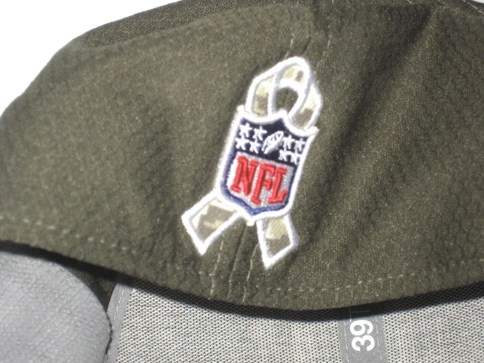 15f9dba55a1 ... Kerry Wynn Signed Official New York Giants Salute To Service New Era  39THIRTY Flex Hat