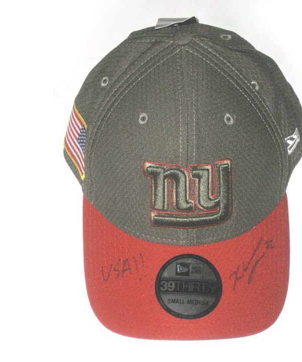6e538da6 Kerry Wynn Signed Official New York Giants Salute To Service New Era ...