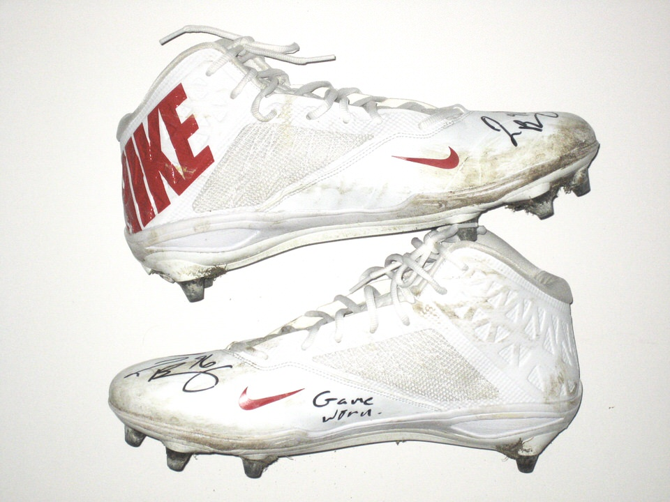 cheap for discount 48051 6344d Jay Bromley New York Giants Game Worn & Signed Color Rush Game Nike Vapor  Cleats – Worn Vs Philadelphia Eagles on December 22nd, 2016!!