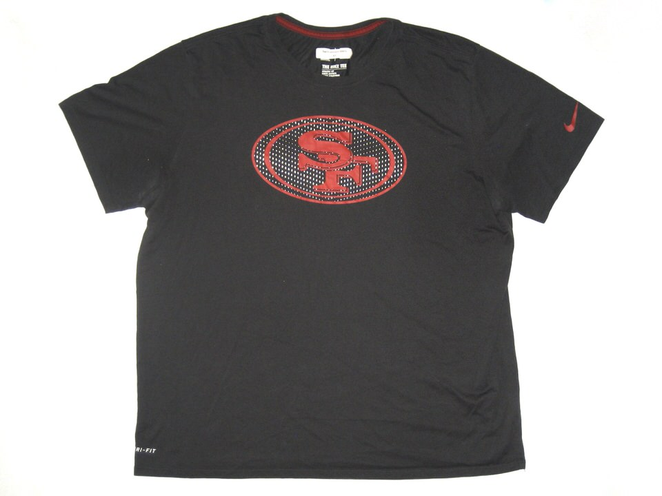 d44e521c3 Tony Jerod-Eddie Player Issued Official San Francisco 49ers Nike Dri-FIT  Shirt