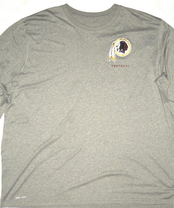 AJ Francis Player Issued   Autographed Official Washington Redskins  69  Long Sleeve Nike Drifit 4XL 1ac379f0a