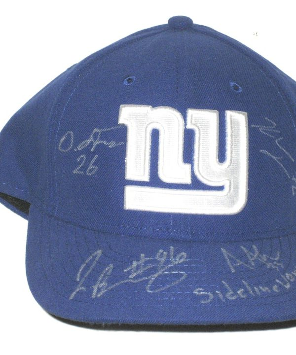 Jay Bromley Sideline Worn   Signed Official New York Giants New Era 59FIFTY  Hat – Also 3832f8babd2