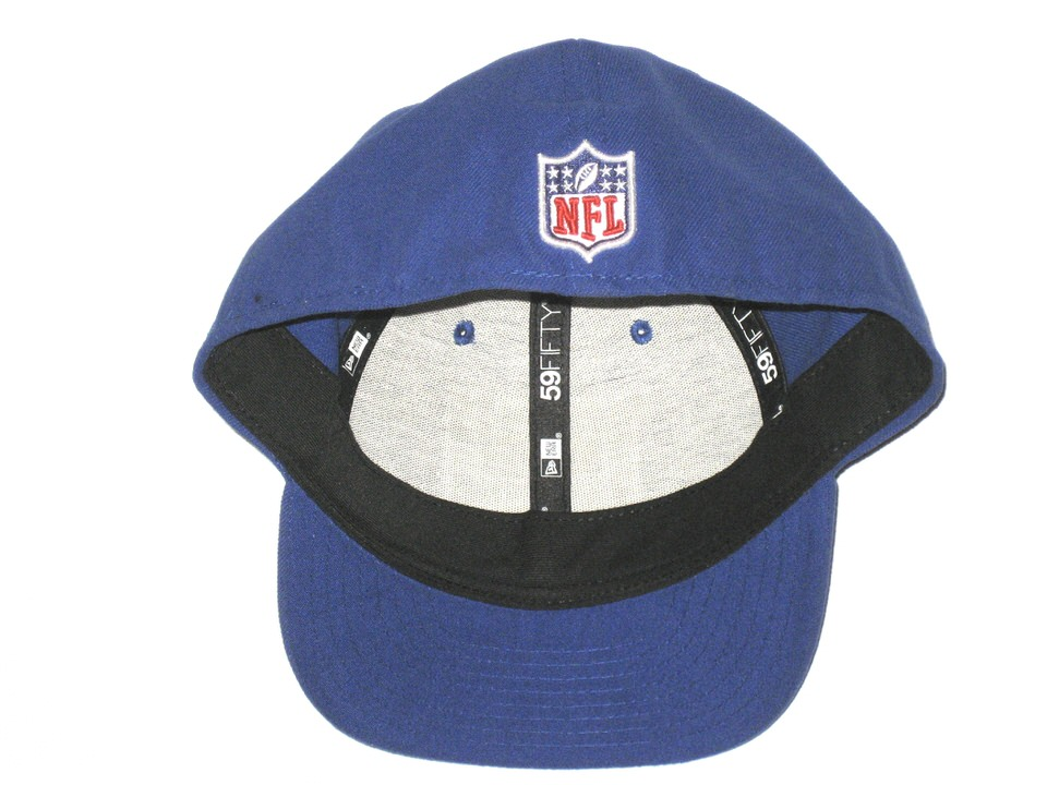 size 40 1103c 2f4ad ... Jay Bromley Sideline Worn   Signed Official New York Giants New Era  59FIFTY Hat – Also ...