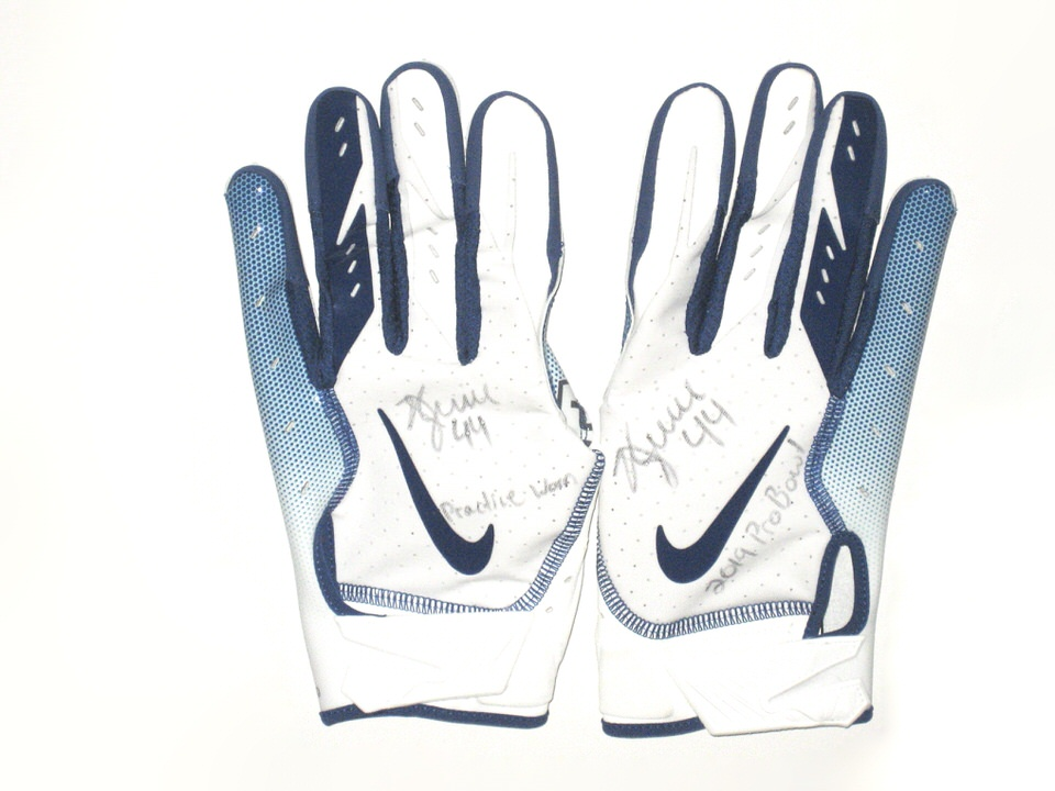 Kyle Juszczyk San Francisco 49ers Practice Worn   Signed Exclusive 2019 NFL Pro  Bowl Nike Gloves - Big Dawg Possessions f80c3ab34