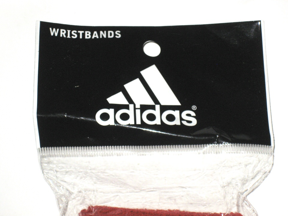 AJ Cole NC State Wolfpack Game Issued & Signed Brand New Red & White Adidas  Wristbands