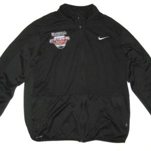 Ryan Bee Player Issued Official Marshall Thundering Herd St Petersburg Bowl Nike XXL Zip Up Jacket
