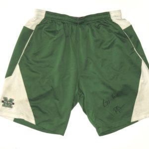 Ryan Bee Player Issued & Signed Official Marshall Thundering Herd #91 Nike Dri-Fit XXL Shorts