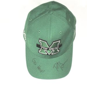Ryan Bee Pre-Owned & Signed Official Marshall Thundering Herd Nike Dri-Fit Hat – Worn Around Campus!