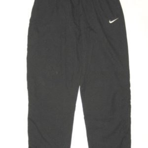 Ryan Bee Marshall Thundering Herd #91 Training Worn Black & White Nike 3XL Wind Pants