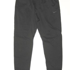 Ryan Bee Marshall Thundering Herd Player Issued Black & Silver Nike Therma-Fit XXL Sweatpants