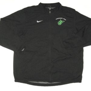 Ryan Bee Player Issued Official Black Marshall Thundering Herd #91 Nike Dri-Fit 3XL Jacket